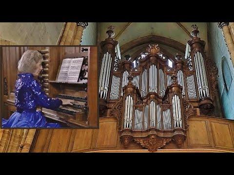 "Bach, Triple Fugue ""St. Anne"" - Diane Bish"