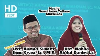 Video [HD] Tanya Jawab FULL Ustadz Slamet & Ustadzah Nabila di Masjid Nurul Iman Telkom (12-11-2017) download MP3, 3GP, MP4, WEBM, AVI, FLV April 2018