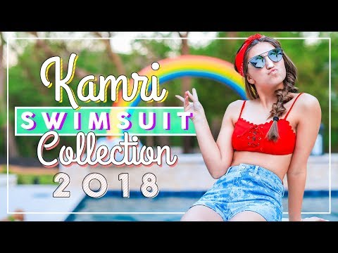 6 AWESOME Swimsuit Looks for Summer | Kamri's 2018 Swimsuit Haul and Collection