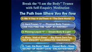 Ramaji Free Self-Enquiry Meditation Enlightenment Course Trance Music Ramana Advaita Nonduality