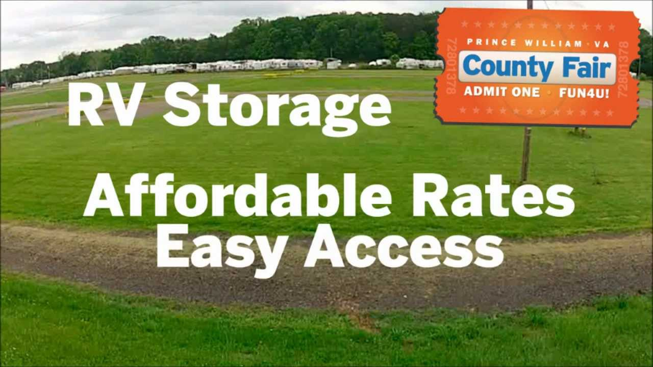 Rv And Boat Storage At The Prince William County Va