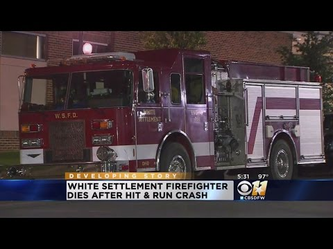 White Settlement firefighter dies after hit-and-run crash