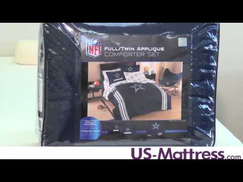 Dallas Cowboys Twin/Full Comforter Set By Northwest Company