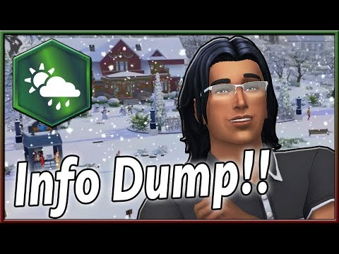 The Sims Info/Thoughts: Seasons Info Dump! Laundry Day & Get Together on Consoles? thumbnail