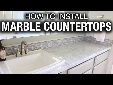 how-to-install-marble-or-granite-countertops-in-a-bathroom
