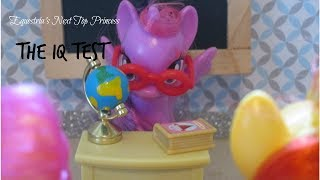 mlpequetrias next top princess the iq test ep6