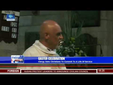 Easter Celebration: Christians In S/Africa Mark Resurrection Of Jesus Christ