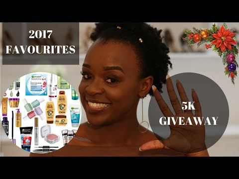 2017 Beauty and Hair Favourites + BIG 5k GIVEAWAY | South African Based Blogger Laurina Machite