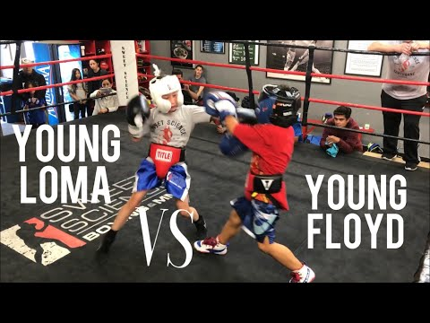 Young Kids Sparring inside Sweet Science Boxing Gym