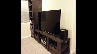 Wall Unit From Solid Oak