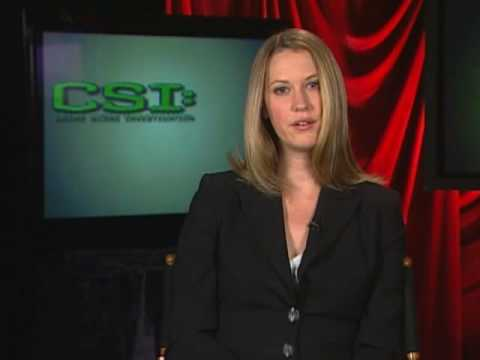 CSI:  You Ask They Tell: Lauren Lee Smith