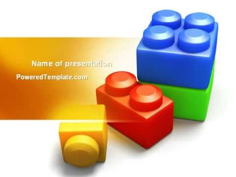 lego bricks powerpoint template by youtube. Black Bedroom Furniture Sets. Home Design Ideas