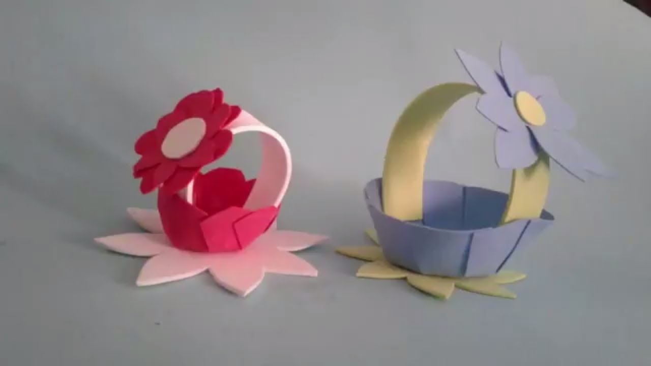 Click To Watch How To Make Paper Flower Bouquet Tutorial Easy Step