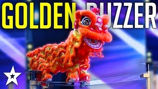 DANGEROUS Lion Dance Gets GOLDEN BUZZER On Myanmars Got Talent 2019! | Got Talent Global