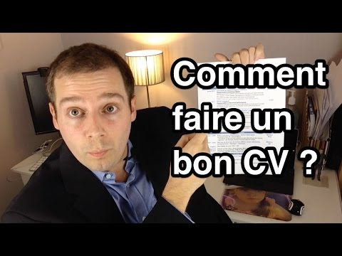 Comment faire un CV efficace ?
