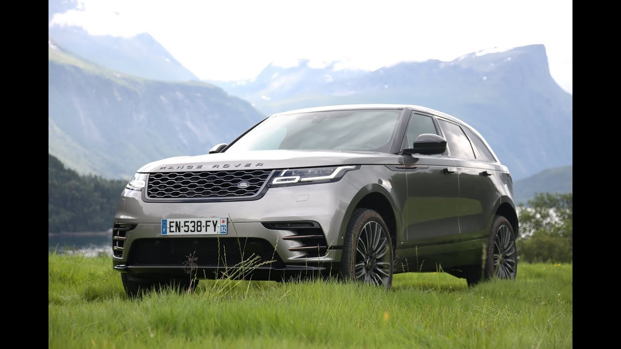 New Range Rover Velar >> 2018 Land Rover Range Rover Velar OFF-ROAD All Terrain ...