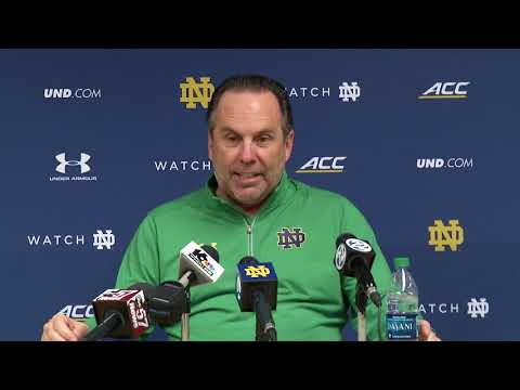 Mike Brey Press Conference NC State