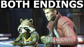 Both Rocket Endings - Marvel