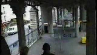 Ligne 2 Metro Stalingrad a Jaures Dec 1994