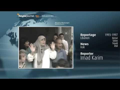 heute journal 1993-97 Irak, Beirut, Sidon, Tripoli, Irbil Reporter Imad Karim