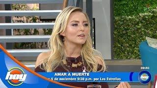 Angelique Boyer es Lucía Borges en 'Amar a muerte' | Hoy