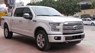 """[XEHAY.VN] Chi tiết """"vua bán tải"""" Ford F-150 Platinum tại Hà Nội"""
