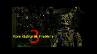 Трейлер - Five nights at Freddy's 3 | На русском [RUS]