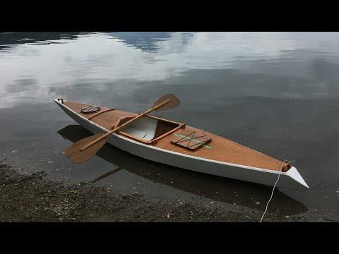 カヤック自作 wooden kayak