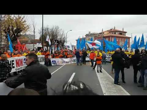 San Cibrao participa en la marcha por salvar Alcoa