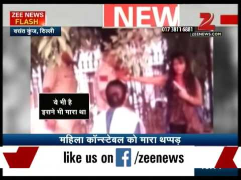 Video of a drunk girl troubling police in Delhi's Vasant Kunj police station