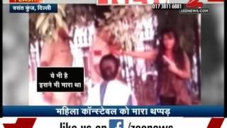 Video of a drunk girl troubling police in Delhi's Vasant Kunj police station