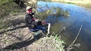 ЛОВЛЯ ВОБЛЕРАМИ НА TICT SRAM Рыбалка на щуку 2020 Ловля окуня весной на спиннинг