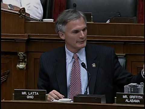 Congressman Bob Latta Questions Department of Interior Secretary Ken Salazar