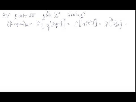 6) Kalkülüs 1 - Fonksiyonlarda Işlem, Bileşik Fonksiyonlar, Tek Ve Çift Fonksiyonlar