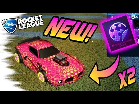 2 New BLACK MARKET MYSTERY DECALS! - Biomass & Digitron/Hexed! (Rocket League Crate 4)