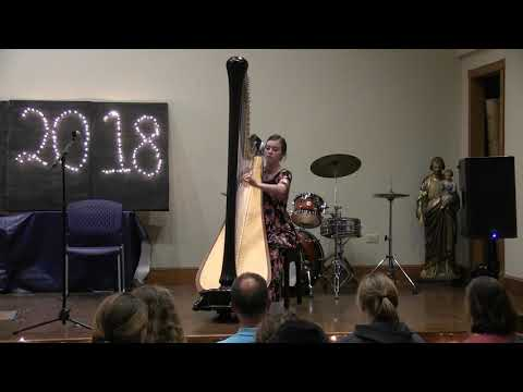 Playing on the Harp | Senior Benefit Concert 2018