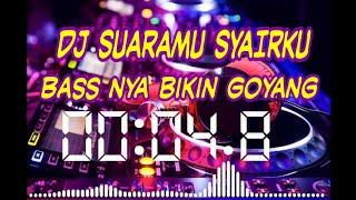 DJ SUARAMU SYAIRKU FULL BASS   Musik Terbaru 2020 Musik Santuy