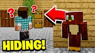 HIDING IN PLAYERS HOUSES WHILE THEY'RE ONLINE!
