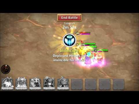 Castle Clash Solo Boss Fight
