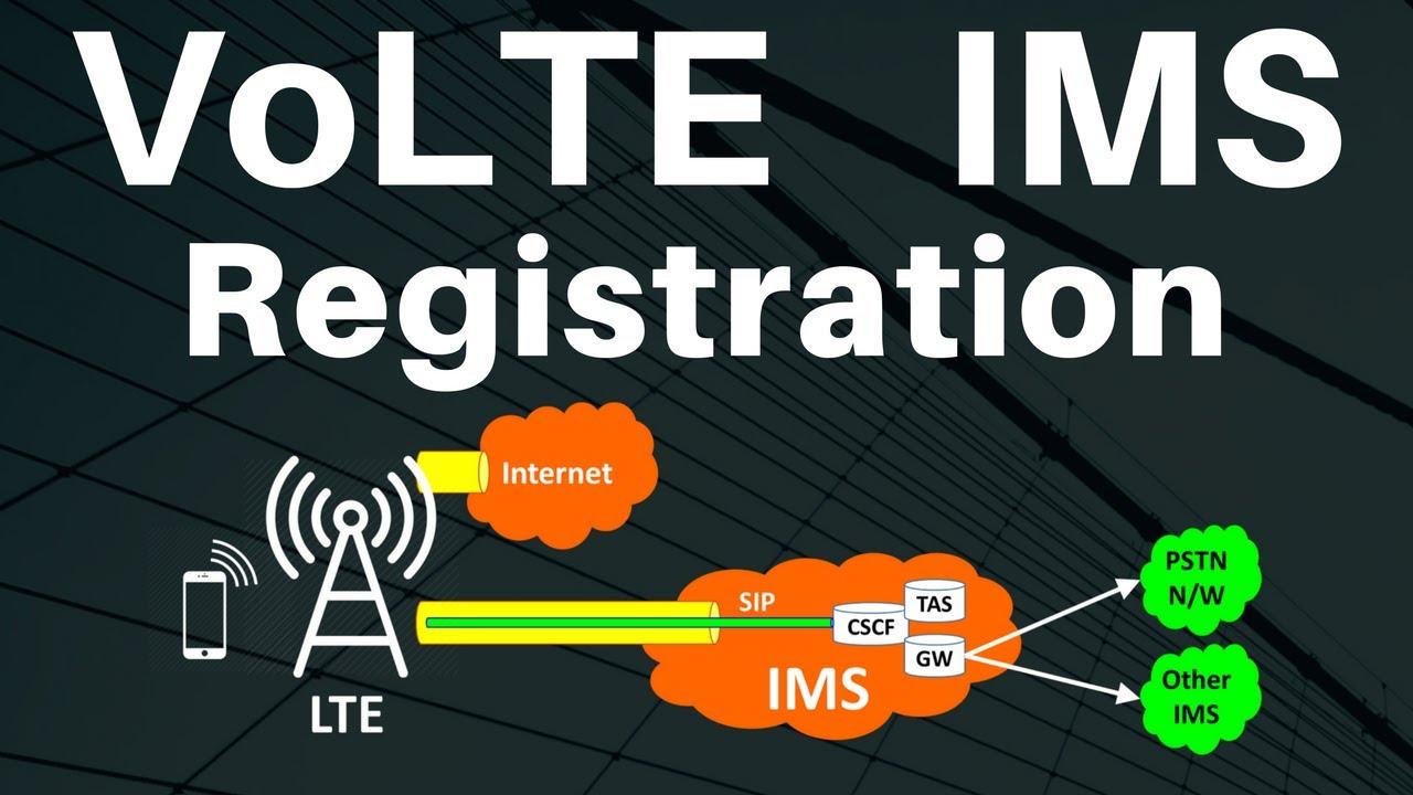 Volte ims network architecture tutorial explained.