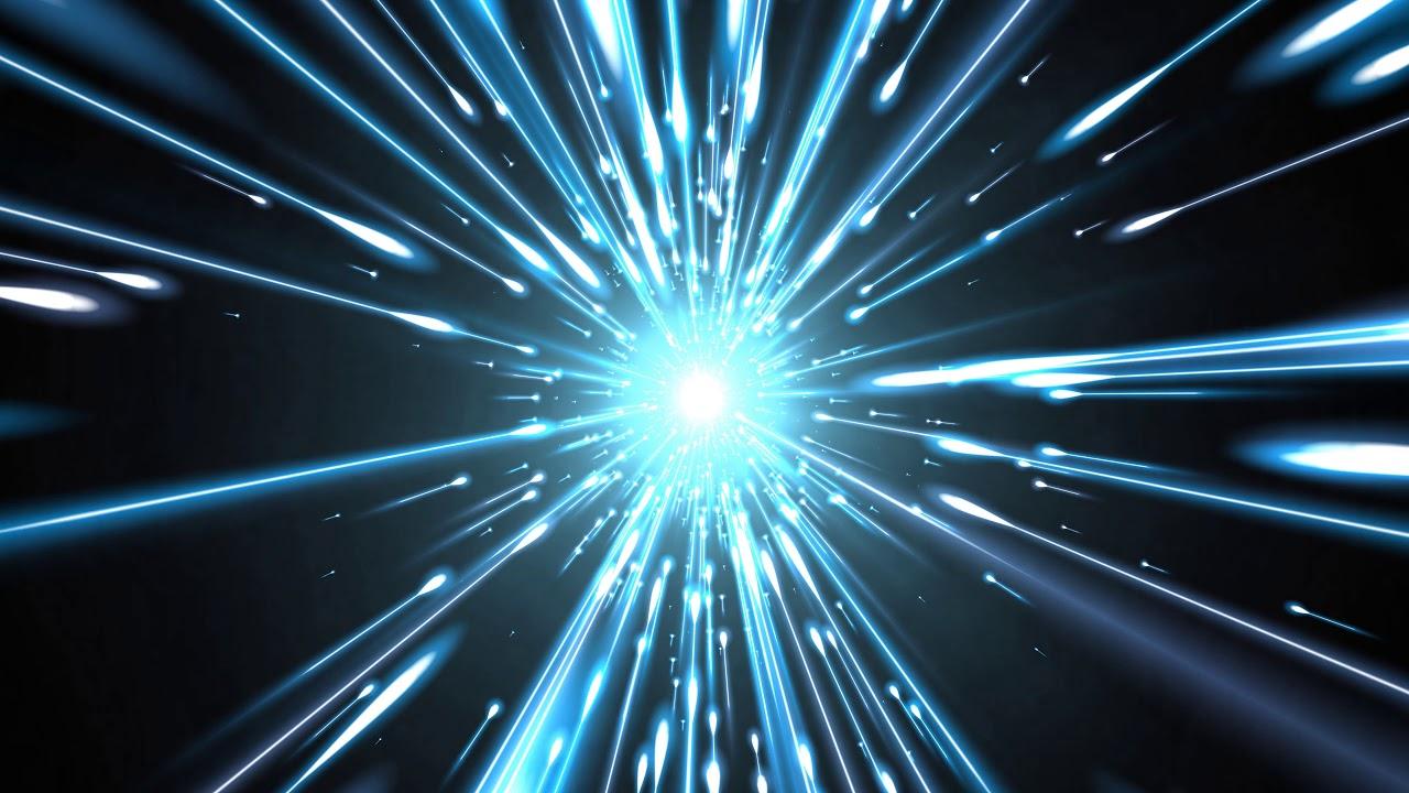 4K Moving Background - Imploding Blue Lasers- AA VFX