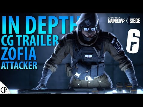IN-DEPTH Zofia CG Trailer! - White Noise - Tom Clancy's Rainbow Six - R6