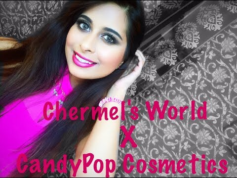 Smokey Eye Tutorial ft CandyPop Cosmetics #smoki'hot palette | Chermel's World