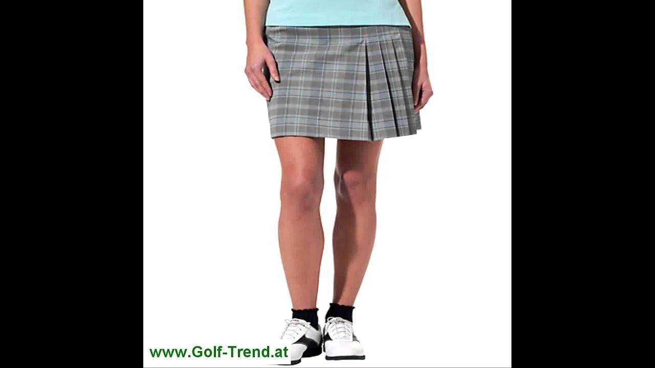 adidas Damen Golf-Rock mit Innenhose ClimaCool 3-Stripe Skort - YouTube