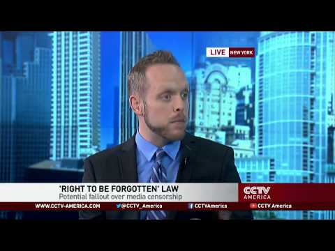 Evan Leatherwood of Fordham University discusses Europe's right to be forgotten policy