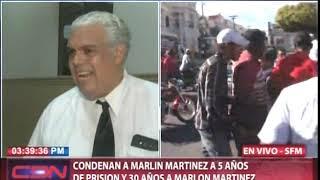 Entrevista a Rafael Reina, abogado Marlon Martinez