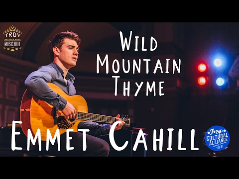 Wild Moutain Thyme - Emmet Cahill Unplugged at the Troy Savings Bank Music Hall