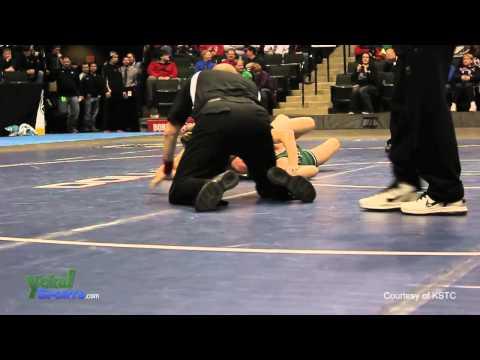 Rij Koehnen vs Curt Mass, MSHSL Class A 152 pound championship / March 3rd, 2012