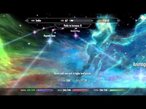 Skyrim: How to get INVISIBILITY! (Unique Spells #4)   Expert Illusion Spell