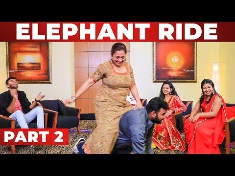 Archana's யானை சவாரி on VJ Ashiq | Alya Manasa & Anitha Sampath | AAA Show | GP 1.2